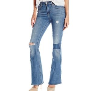 Levi's High Rise Flare Jeans, Patch
